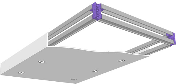 DROPPED CEILING BOX KIT