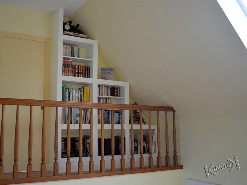 diy-custom-bookcase-plasterboard