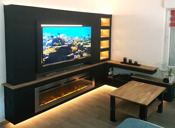 modern-TV-stand-with-fireplace
