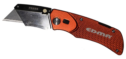 Foldable utility knife