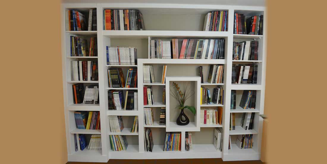 How to build a custom bookcase for Bibliotheque meuble moderne