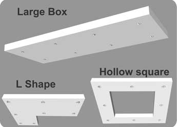 how to make a dropped ceiling light box. Black Bedroom Furniture Sets. Home Design Ideas