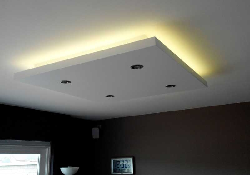 how to build a drop ceiling light box